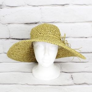 Sperry Topside PaperStraw Floppy Sun Hat